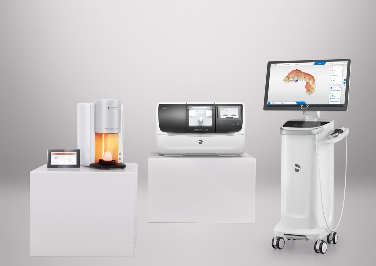 Nouvelle unité d'usinage dentaire CEREC® Primemill Dentsply Sirona
